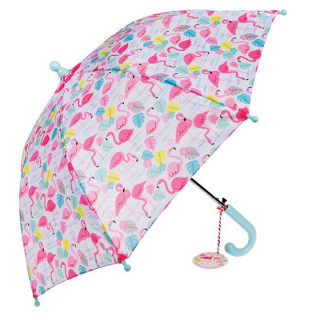 PARAPLUIE  FLAMANTS ROSES