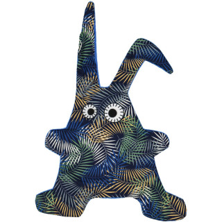 DOUDOU TOUMOU RABBIT JUNGLE BLEU