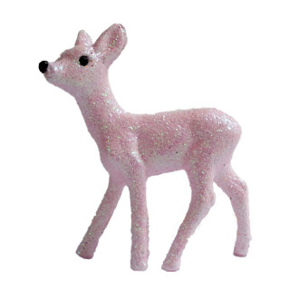BAMBI A PAILLETTES ROSE PALE