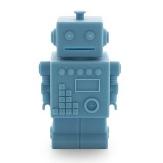 TIRELIRE ROBOT BLEU