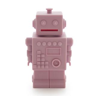 TIRELIRE ROBOT ROSE