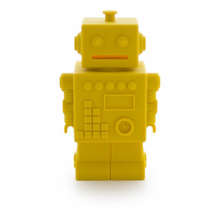 TIRELIRE ROBOT JAUNE