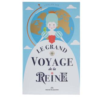 GRAND LIVRE  LE GRAND VOYAGE DE LA REINE