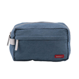 TROUSSE DE TOILETTE DENIM LIGHT BLUE