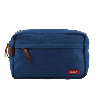 TROUSSE DE TOILETTE DENIM MEDIUM BLUE