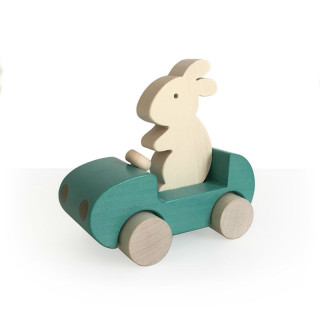 VOITURE BUNNY TURQUOISE