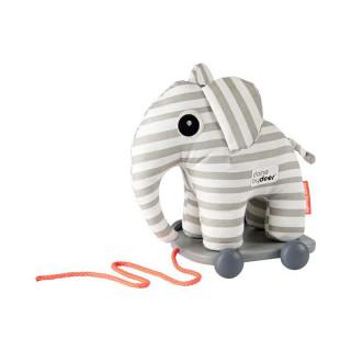 DOUDOU ELEPHANT A TIRER