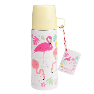 THERMOS  FLAMANT ROSE