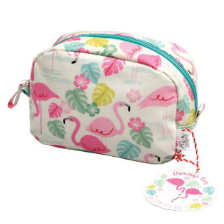 TROUSSE DE MAQUILLAGE FLAMANT ROSE