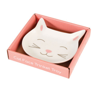 ASSIETTE EN PORCELAINE CHAT