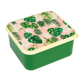 LUNCH BOX  FEUILLES TROPICALES