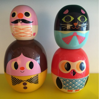 OEUFS POUPEES RUSSES (BABYOSHKA) PERSONNAGES