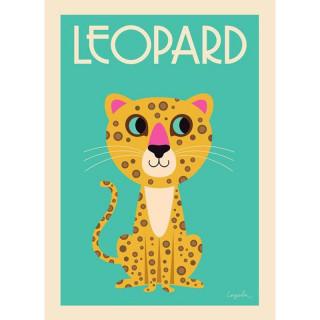 AFFICHE  LEOPARD