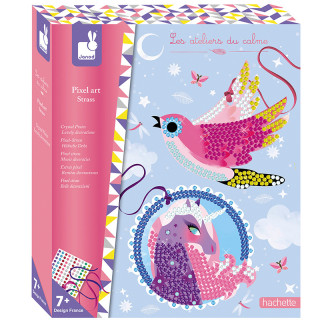 COFFRET PIXEL ART STRASS JOLIES DECOS