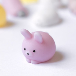 MINI SQUISHY LAPIN ROSE