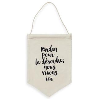 BANNIERE  PARDON POUR LE DESORDRE...