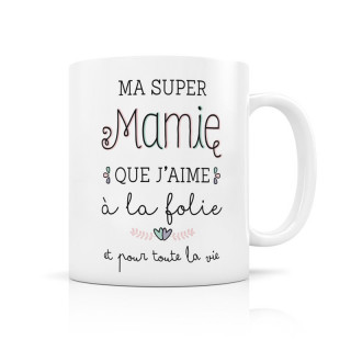 MUG CERAMIQUE SUPER MAMIE