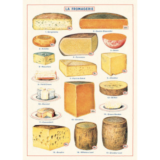 POSTER AFFICHE CAVALLINI FROMAGE