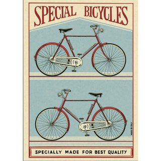 POSTER AFFICHE CAVALLINI SPECIAL BICYCLE