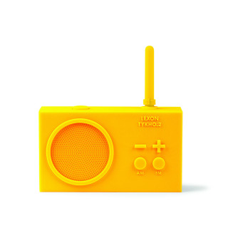 RADIO RECHARGEABLE SPLASHPROOF JAUNE