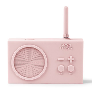 RADIO RECHARGEABLE SPLASHPROOF ROSE