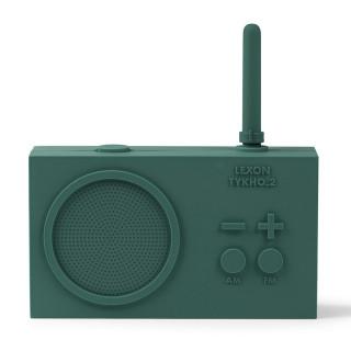 RADIO RECHARGEABLE SPLASHPROOF VERT FONCE