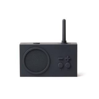 RADIO ET ENCEINTE RECHARGEABLE SPLASHPROOF GRIS FONCE TYKHO3