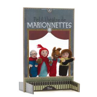 MARIONNETTES DE DOIGTS PETIT CHAPERON ROUGE