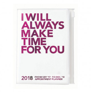 AGENDA A5  I WILL ALWAYS MAKE TIME FOR YOU  PINK