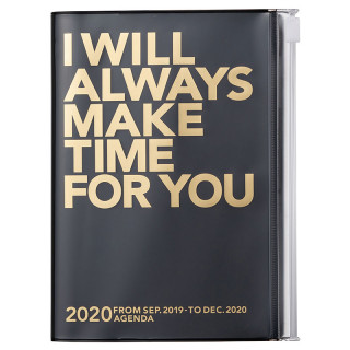 AGENDA A6  I WILL ALWAYS MAKE TIME FOR YOU  NOIR OR