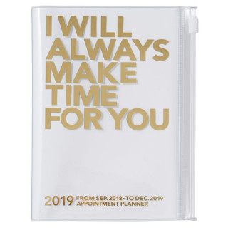 AGENDA A6  I WILL ALWAYS MAKE TIME FOR YOU  GOLD
