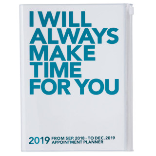AGENDA A5  I WILL ALWAYS MAKE TIME FOR YOU  TURQUOISE