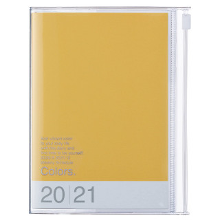 AGENDA A6 COLORS JAUNE