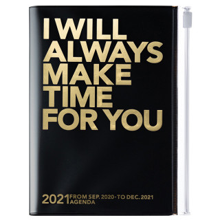 AGENDA A6 I WILL ALWAYS MAKE TIME FOR YOU NOIR