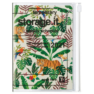 AGENDA A6 JUNGLE BEIGE