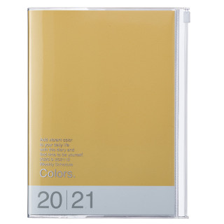 AGENDA A5 COLORS JAUNE