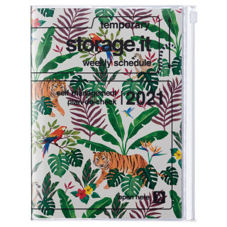 AGENDA A5 JUNGLE BEIGE