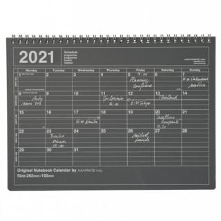 CALENDRIER NOTEBOOK 2021
