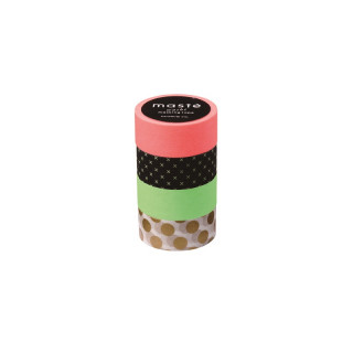 LOT DE 4 MASKING TAPES D