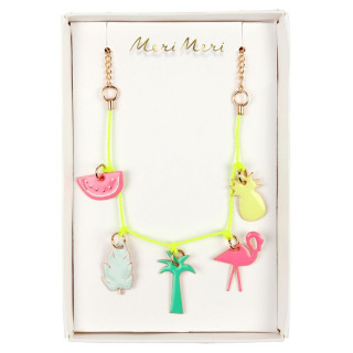 COLLIER CHARME TROPICAL