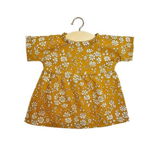 ROBE FAUSTINE LIBERTY TANA  MOUTARDE
