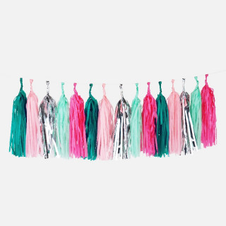 GUIRLANDE TASSEL SEA PUNK