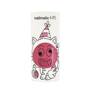 VERNIS A ONGLES ROSE FRAMBOISE PAILLETE