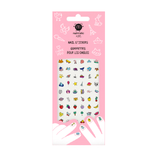 72 GOMMETTES ONGLES HAPPY NAILS