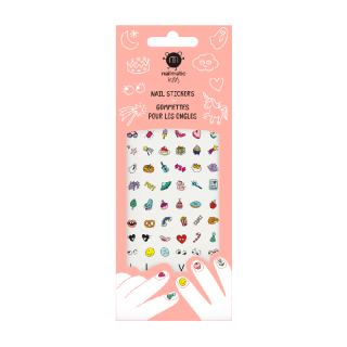 72 GOMMETTES ONGLES MAGIC NAILS
