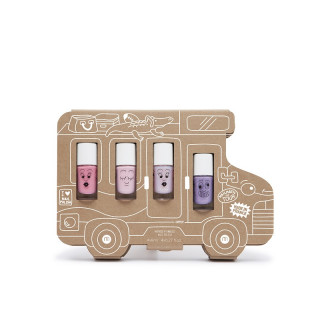 COFFRET HOLIDAY STORY : 4 VERNIS