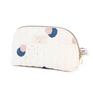 TROUSSE DE TOILETTE ECLIPSE BLEUE / NATUREL