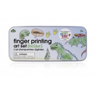 FINGER PRINTING  DINOSAURES