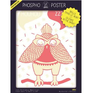 PHOSPHO POSTER HIBOU