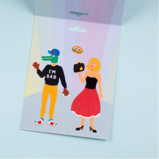 KIT CREATIF  FASHION STICKERS
